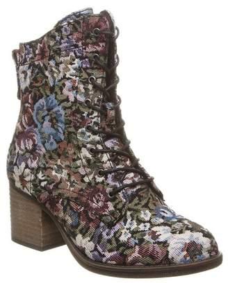 BearPaw Topaz Genuine Sheepskin Footbed Block Heel Boot