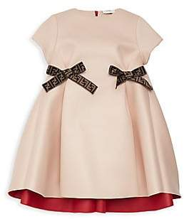 Fendi Little Girl's & Girl's Bow Dress