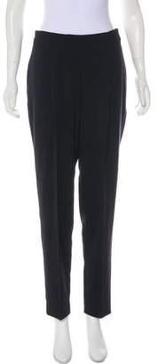 Oska Wool Blend High-Rise Straight Pants