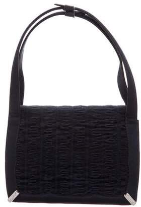 Judith Leiber Pleated Handle Bag