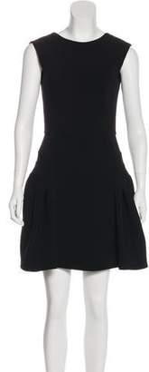 Miu Miu Paneled Mini Dress