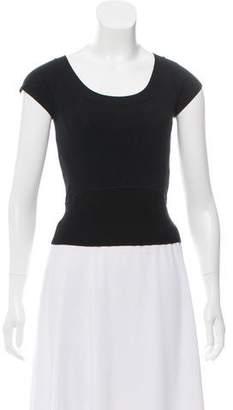 Max Mara Weekend Knit Short Sleeve Top