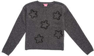 Big Girls Lurex Star Sweater
