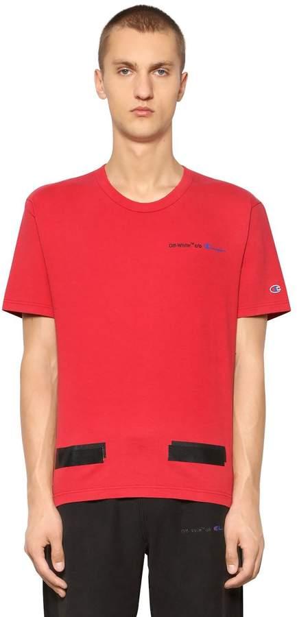 Champion Co-Lab Cotton Jersey T-Shirt