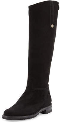 Gravati Tall Suede Riding Boot