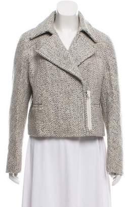 3.1 Phillip Lim Wool-Blend Crop Evening Jacket