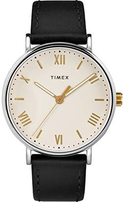 Timex Men's TW2R82400 Southview 41 Leather Strap Watch