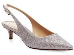 Sam Edelman Ludlow Metallic Slingback Pumps