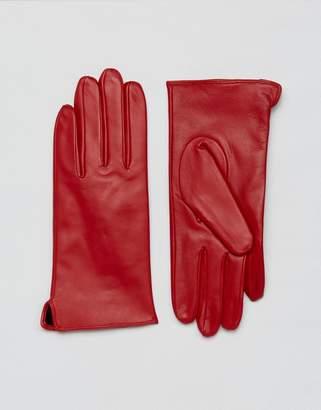 Barney's Originals Real Leather Gloves