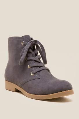 Indigo Rd Abelly Lace Up Ankle Boot - Dark Grey