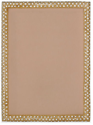 One Kings Lane Palmyra Jeweled Picture Frame - Gold
