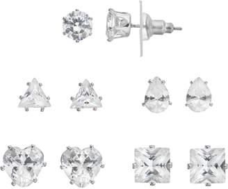 Apt. 9 Cubic Zirconia Stud Earring Set