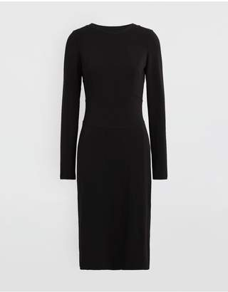 Maison Margiela Stitch-Jacquard Jersey Knit Dress