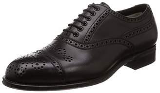 Foot the Coacher [フットザコーチャー] SEMI Brogue Shoes(Leather Sole) メンズ FTC1612005 ブラック US 8 1/2(26.5 cm)