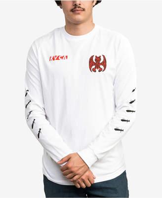 RVCA Men Grillo Bat Graphic T-Shirt