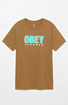 Obey Records T-Shirt