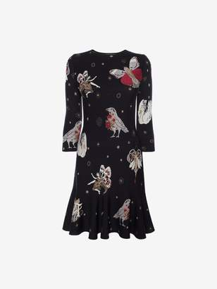 Alexander McQueen Gothic Fairytale Mini Dress