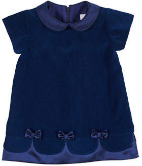 Florence Eiseman Royal Treatment Velvet Dress, Size 6-24 Months