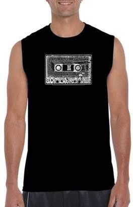 Pop Culture Los Angeles Pop Art Big Men's Sleeveless T-Shirt - The 80's
