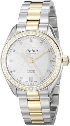 Alpina Women's AL-525STD2CD3B Comtesse Analog Display Automatic Self Wind Two Tone Watch