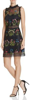 Lucy Paris Gabby Embellished Mesh Dress - 100% Exclusive $108 thestylecure.com