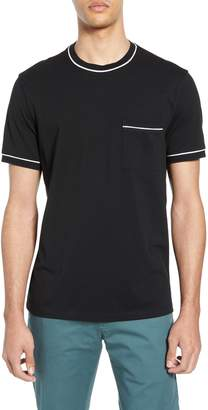 Club Monaco Trim Fit Cotton Pique T-Shirt
