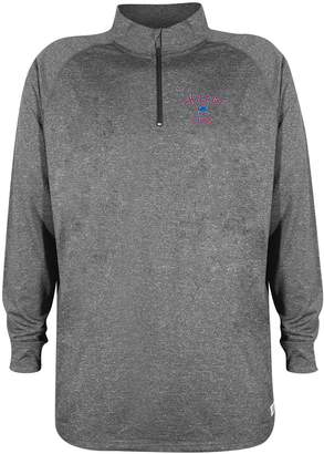 Stitches Men's Chicago Cubs Charcoal Pullover