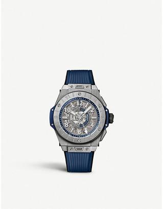 Hublot 471.NX.7112.RX Big Bang Unico GMT Titanium watch