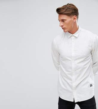 Jack and Jones Originals Shirt in Regular Fit Flecked Fabric