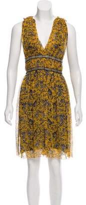 Etoile Isabel Marant Silk Floral Print Dress
