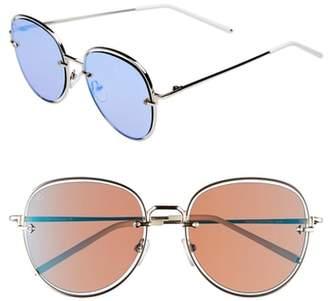 Privé Revaux The Escobar 55mm Aviator Sunglasses