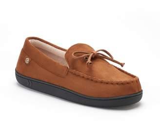 Isotoner Men's Microsuede Moccasin Slippers