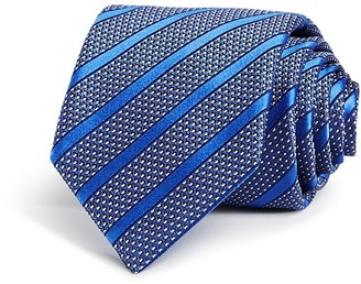 Canali Stripe Dot Neat Classic Tie $160 thestylecure.com