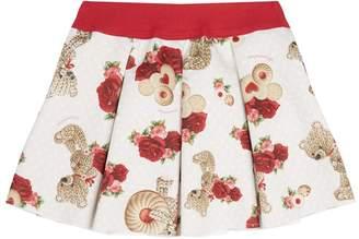 MonnaLisa Bear A-Line Skirt