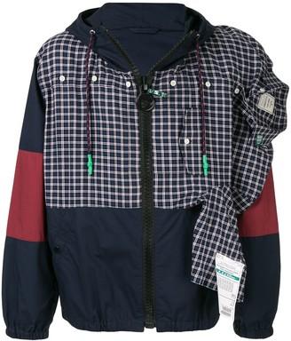 Maison Yasuhiro deconstructed shirt jacket