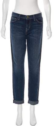Current/Elliott Rolled Mid-Rise Straight-Leg Jeans w/ Tags