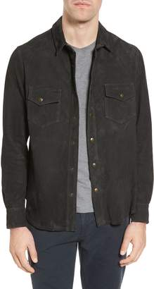 Billy Reid Suede Work Shirt