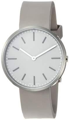 Uniform Wares M37 Swiss Quartz Stainless Steel and Grey Rubber Watch