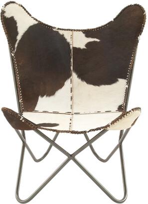 UMA Enterprises Leather Fur Chair