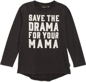 Rock Your Baby Rock Your Kid Save the Drama T-Shirt