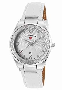 Swiss Legend Women's 'Passionata' Quartz Stainless Steel and Leather Watch