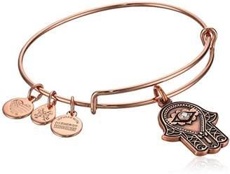 Alex and Ani Women's Hand of Fatima Charm Bangle Bracelet