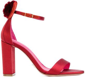 Oscar Tiye Minnie pom pom sandals