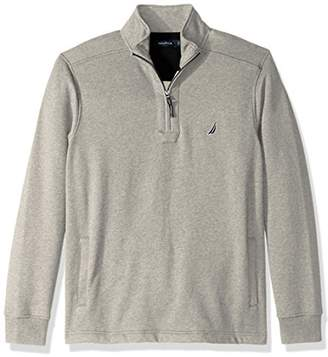 Nautica Men's Quarter-Zip Fleece Sweatshirt