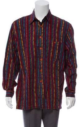 Missoni Geometric Striped Shirt