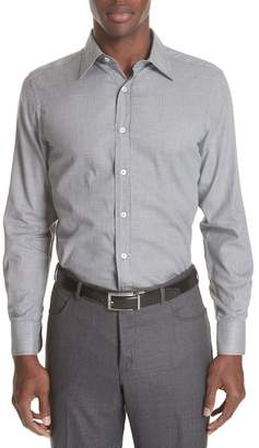 Canali Classic Fit Geometric Dress Shirt