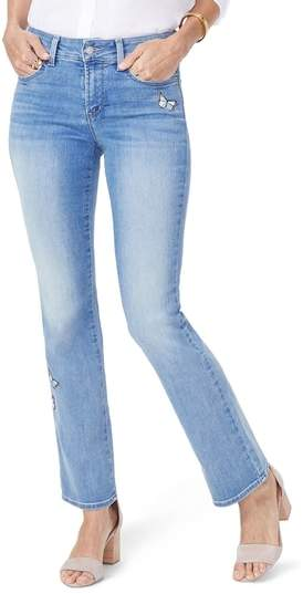 Barbara Butterfly Bootcut Jeans