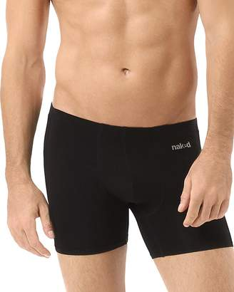 Naked Luxury Stretch Micromodal Boxer Briefs $32 thestylecure.com
