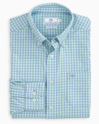 Southern Tide Dunecrest Gingham Intercoastal Performance Shirt