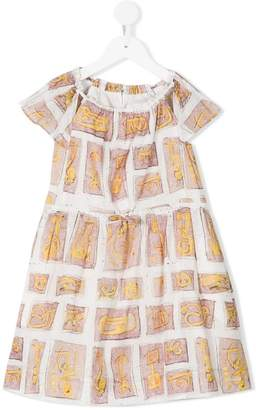 Burberry printed dress